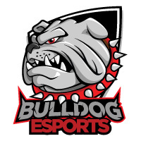Edmond Memorial Bulldog eSports logo (with angry bulldog image)